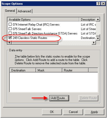 Using DHCP to Assign Static Routes | Richard Hicks