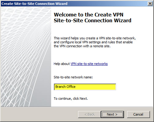Configuring Site-to-Site VPN with Forefront TMG and Cisco