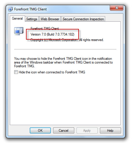 Vulnerability in the Forefront TMG 2010 Client Could Allow Remote