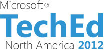 Microsoft TechEd North America 2012